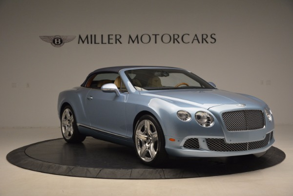 Used 2012 Bentley Continental GTC W12 for sale Sold at Bugatti of Greenwich in Greenwich CT 06830 23