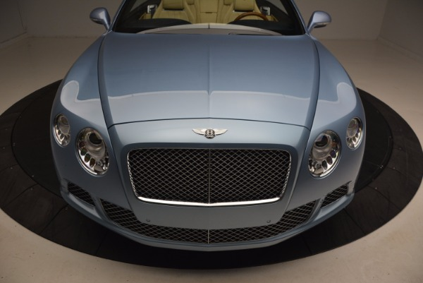 Used 2012 Bentley Continental GTC W12 for sale Sold at Bugatti of Greenwich in Greenwich CT 06830 24