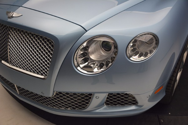 Used 2012 Bentley Continental GTC W12 for sale Sold at Bugatti of Greenwich in Greenwich CT 06830 25