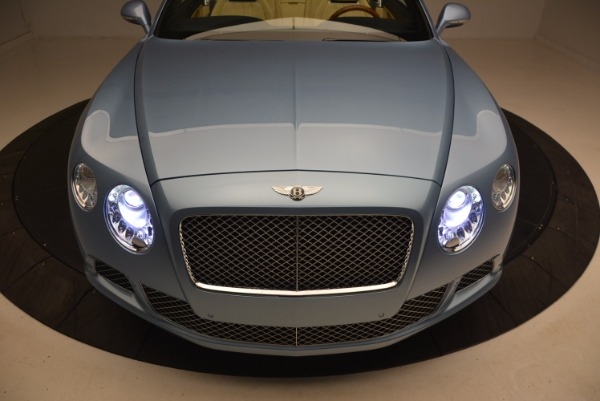 Used 2012 Bentley Continental GTC W12 for sale Sold at Bugatti of Greenwich in Greenwich CT 06830 26