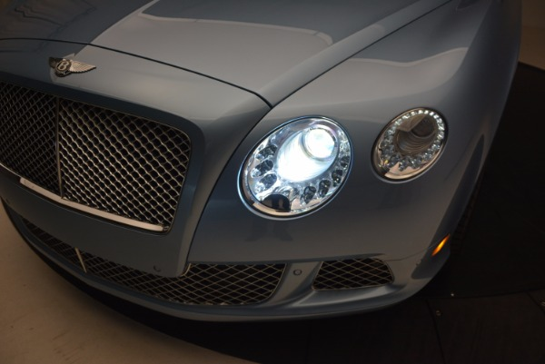 Used 2012 Bentley Continental GTC W12 for sale Sold at Bugatti of Greenwich in Greenwich CT 06830 27