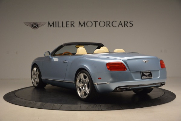 Used 2012 Bentley Continental GTC W12 for sale Sold at Bugatti of Greenwich in Greenwich CT 06830 5