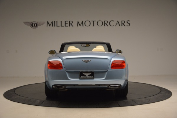 Used 2012 Bentley Continental GTC W12 for sale Sold at Bugatti of Greenwich in Greenwich CT 06830 6