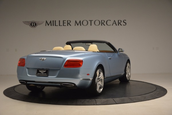 Used 2012 Bentley Continental GTC W12 for sale Sold at Bugatti of Greenwich in Greenwich CT 06830 7
