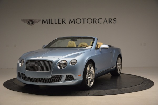 Used 2012 Bentley Continental GTC W12 for sale Sold at Bugatti of Greenwich in Greenwich CT 06830 1