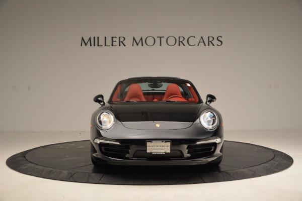 Used 2015 Porsche 911 Targa 4S for sale Sold at Bugatti of Greenwich in Greenwich CT 06830 12