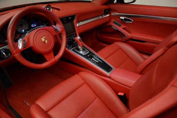 Used 2015 Porsche 911 Targa 4S for sale Sold at Bugatti of Greenwich in Greenwich CT 06830 21