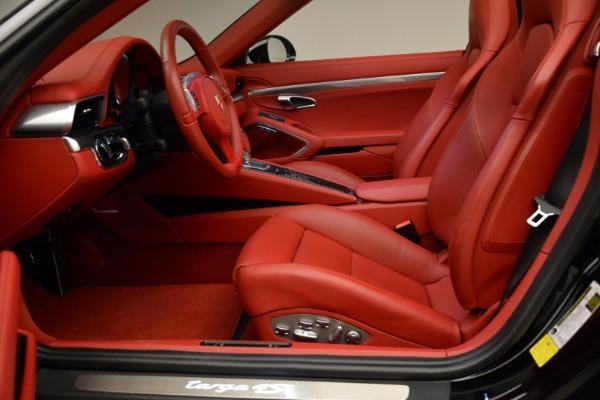 Used 2015 Porsche 911 Targa 4S for sale Sold at Bugatti of Greenwich in Greenwich CT 06830 22