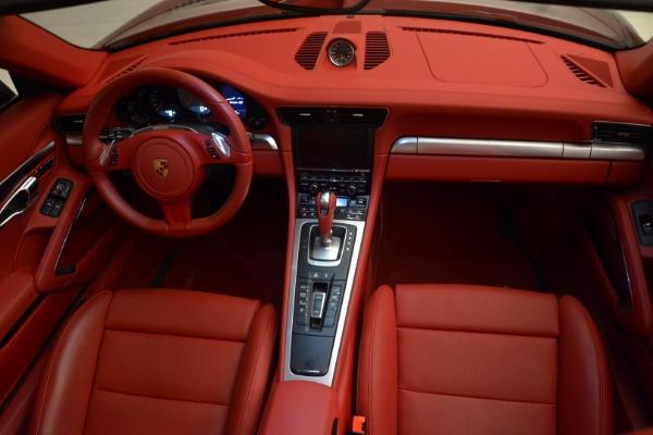 Used 2015 Porsche 911 Targa 4S for sale Sold at Bugatti of Greenwich in Greenwich CT 06830 24
