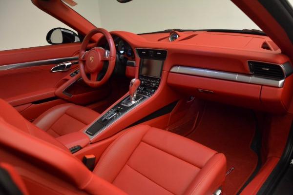 Used 2015 Porsche 911 Targa 4S for sale Sold at Bugatti of Greenwich in Greenwich CT 06830 25