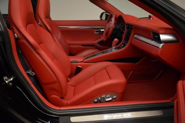 Used 2015 Porsche 911 Targa 4S for sale Sold at Bugatti of Greenwich in Greenwich CT 06830 26