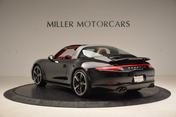 Used 2015 Porsche 911 Targa 4S for sale Sold at Bugatti of Greenwich in Greenwich CT 06830 5