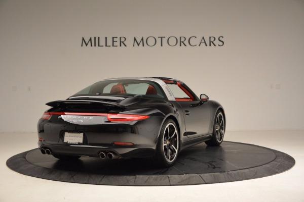 Used 2015 Porsche 911 Targa 4S for sale Sold at Bugatti of Greenwich in Greenwich CT 06830 7