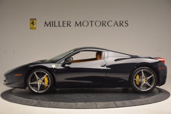 Used 2015 Ferrari 458 Spider for sale Sold at Bugatti of Greenwich in Greenwich CT 06830 13