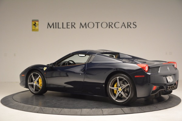 Used 2015 Ferrari 458 Spider for sale Sold at Bugatti of Greenwich in Greenwich CT 06830 14
