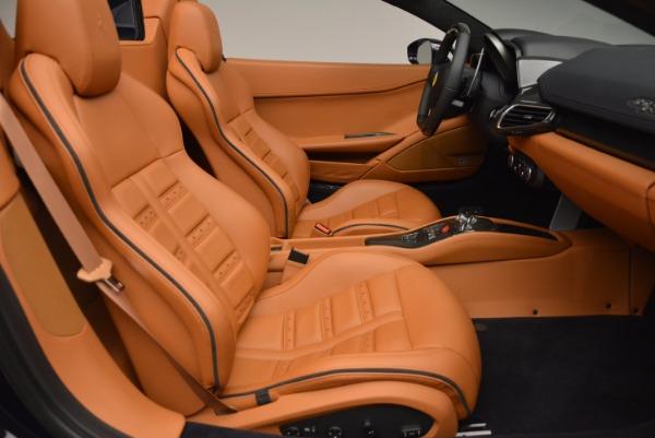 Used 2015 Ferrari 458 Spider for sale Sold at Bugatti of Greenwich in Greenwich CT 06830 26