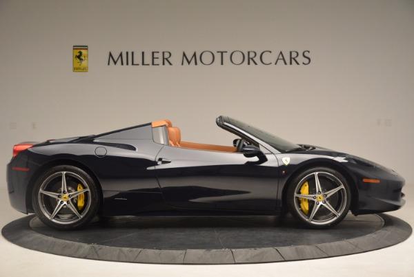 Used 2015 Ferrari 458 Spider for sale Sold at Bugatti of Greenwich in Greenwich CT 06830 9