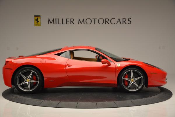 Used 2010 Ferrari 458 Italia for sale Sold at Bugatti of Greenwich in Greenwich CT 06830 9