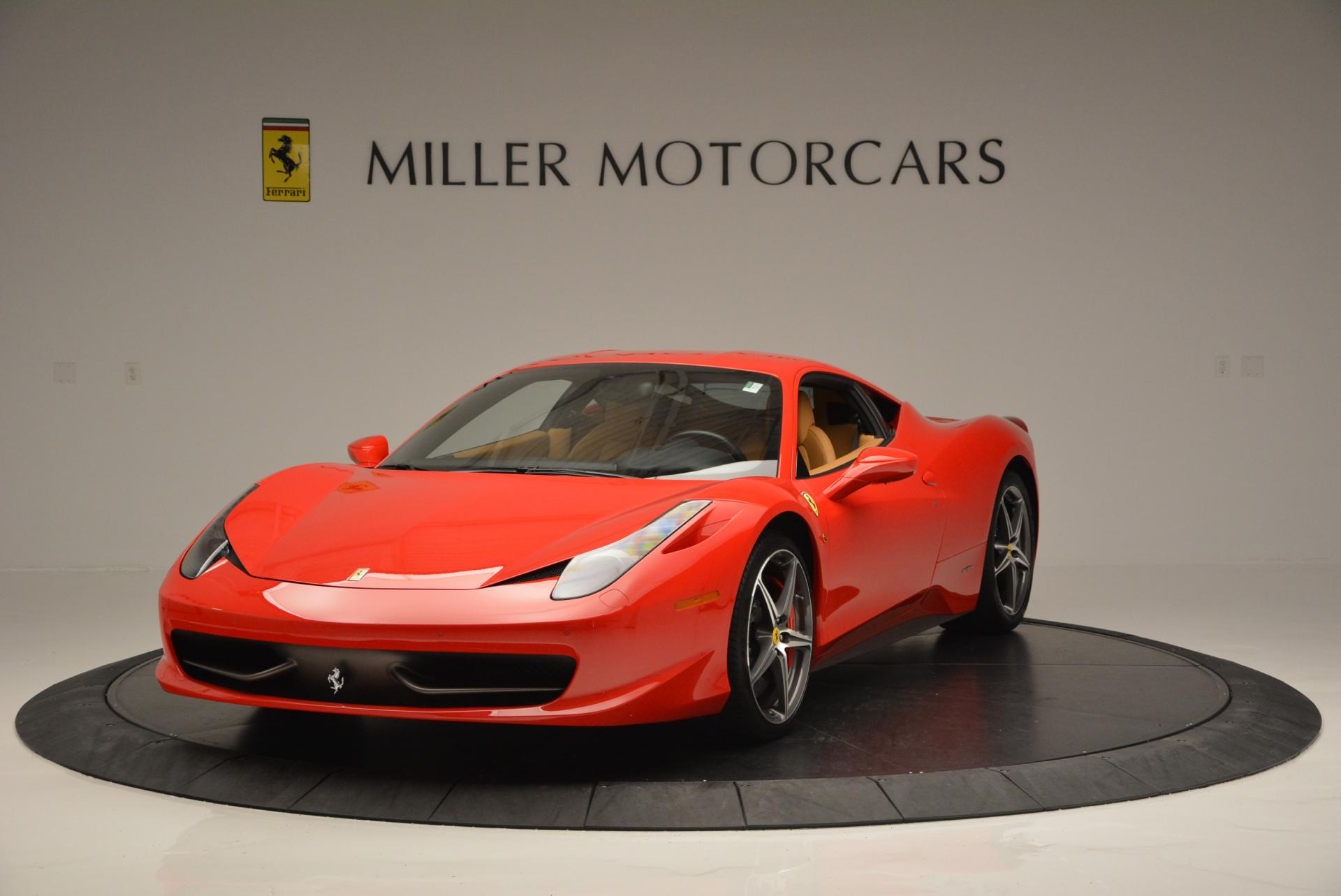 Used 2010 Ferrari 458 Italia for sale Sold at Bugatti of Greenwich in Greenwich CT 06830 1
