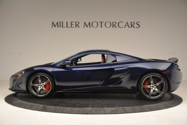 Used 2015 McLaren 650S Spider for sale Sold at Bugatti of Greenwich in Greenwich CT 06830 16