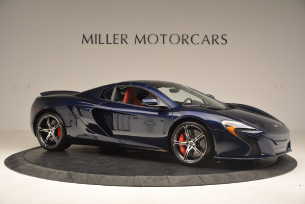Used 2015 McLaren 650S Spider for sale Sold at Bugatti of Greenwich in Greenwich CT 06830 23
