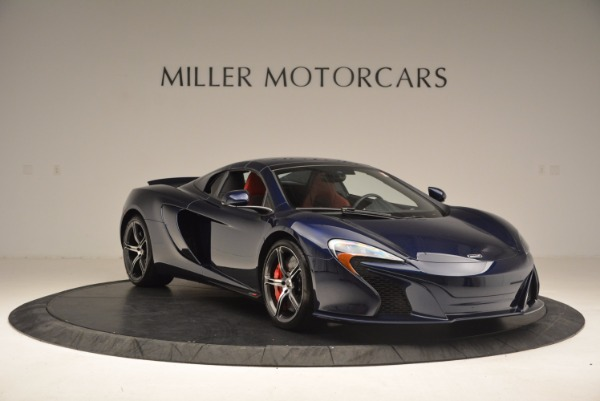 Used 2015 McLaren 650S Spider for sale Sold at Bugatti of Greenwich in Greenwich CT 06830 24