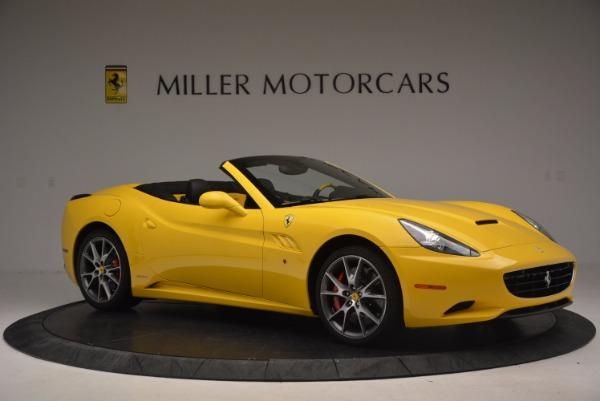Used 2011 Ferrari California for sale Sold at Bugatti of Greenwich in Greenwich CT 06830 10