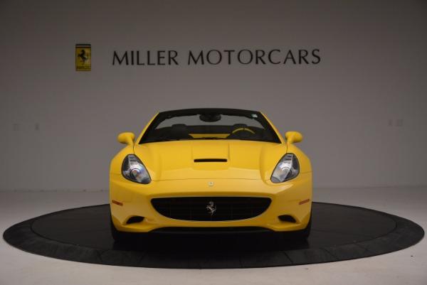 Used 2011 Ferrari California for sale Sold at Bugatti of Greenwich in Greenwich CT 06830 12