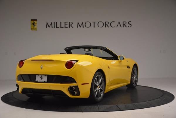 Used 2011 Ferrari California for sale Sold at Bugatti of Greenwich in Greenwich CT 06830 7