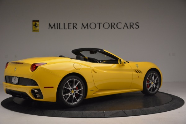Used 2011 Ferrari California for sale Sold at Bugatti of Greenwich in Greenwich CT 06830 8
