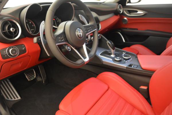 New 2017 Alfa Romeo Giulia Ti Sport Q4 for sale Sold at Bugatti of Greenwich in Greenwich CT 06830 13