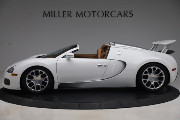Used 2011 Bugatti Veyron 16.4 Grand Sport for sale Call for price at Bugatti of Greenwich in Greenwich CT 06830 3