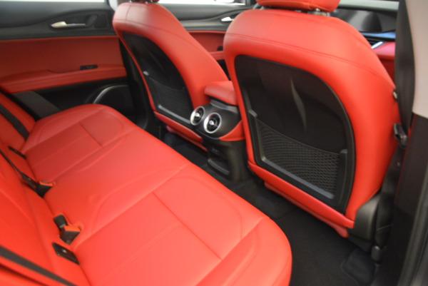New 2018 Alfa Romeo Stelvio Q4 for sale Sold at Bugatti of Greenwich in Greenwich CT 06830 22
