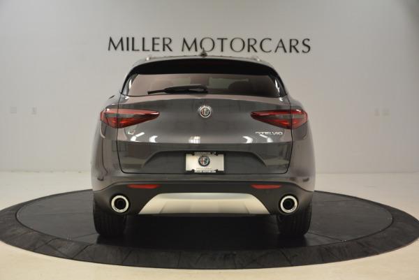 New 2018 Alfa Romeo Stelvio Q4 for sale Sold at Bugatti of Greenwich in Greenwich CT 06830 6