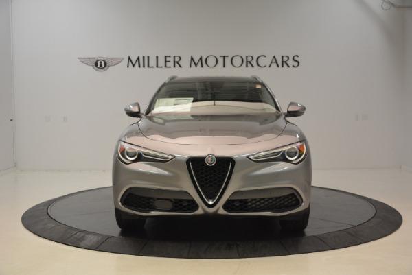 New 2018 Alfa Romeo Stelvio Q4 for sale Sold at Bugatti of Greenwich in Greenwich CT 06830 12