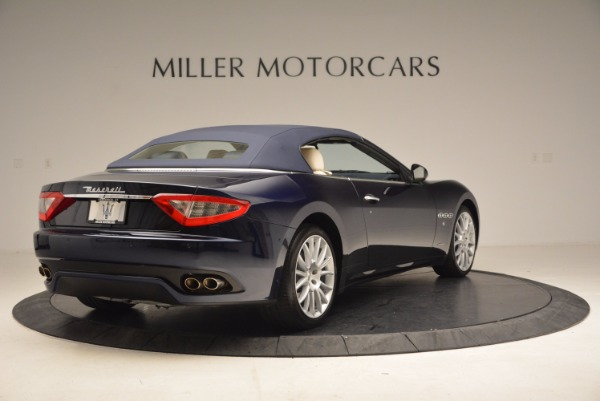 Used 2016 Maserati GranTurismo for sale Sold at Bugatti of Greenwich in Greenwich CT 06830 19