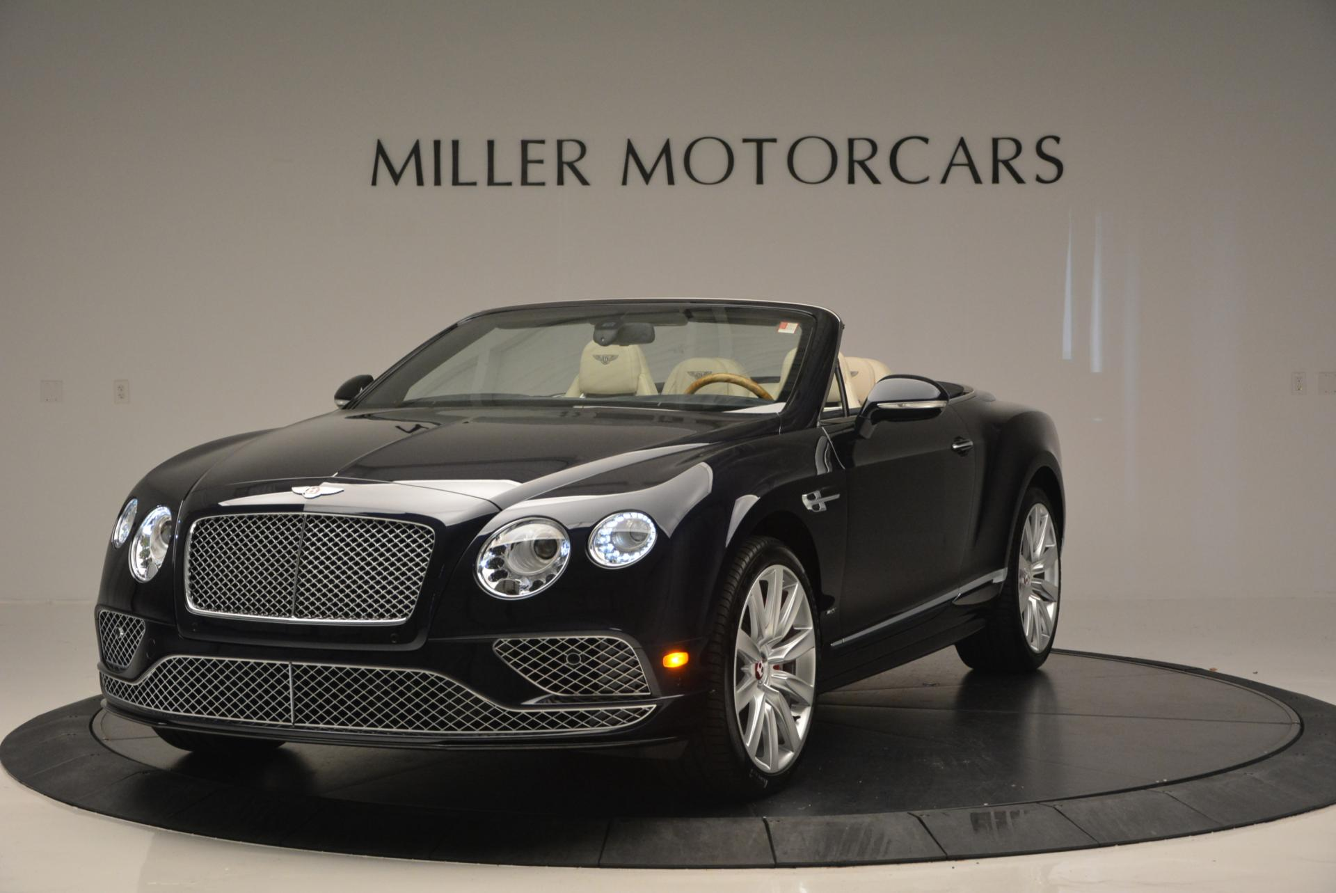 Used 2016 Bentley Continental GT V8 S Convertible for sale Sold at Bugatti of Greenwich in Greenwich CT 06830 1