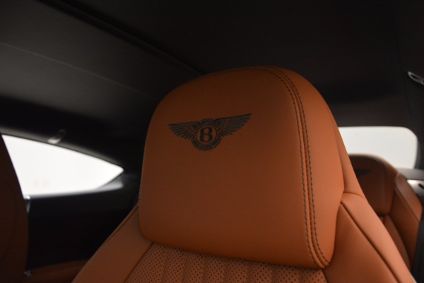 New 2017 Bentley Continental GT W12 for sale Sold at Bugatti of Greenwich in Greenwich CT 06830 19