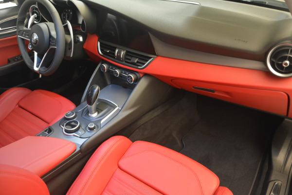 New 2017 Alfa Romeo Giulia Ti Sport Q4 for sale Sold at Bugatti of Greenwich in Greenwich CT 06830 19