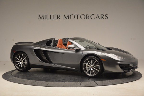 Used 2014 McLaren MP4-12C SPIDER Convertible for sale Sold at Bugatti of Greenwich in Greenwich CT 06830 10
