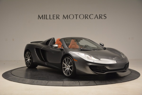Used 2014 McLaren MP4-12C SPIDER Convertible for sale Sold at Bugatti of Greenwich in Greenwich CT 06830 11