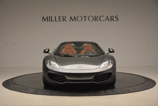 Used 2014 McLaren MP4-12C SPIDER Convertible for sale Sold at Bugatti of Greenwich in Greenwich CT 06830 12