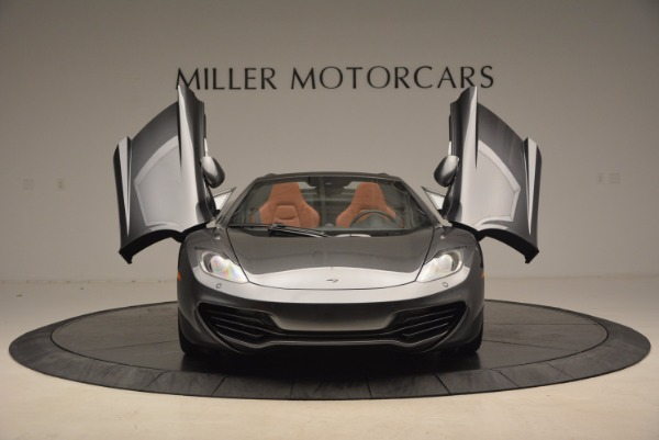 Used 2014 McLaren MP4-12C SPIDER Convertible for sale Sold at Bugatti of Greenwich in Greenwich CT 06830 13