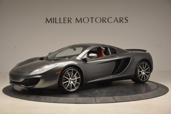Used 2014 McLaren MP4-12C SPIDER Convertible for sale Sold at Bugatti of Greenwich in Greenwich CT 06830 15