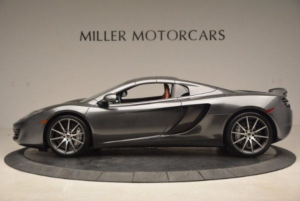 Used 2014 McLaren MP4-12C SPIDER Convertible for sale Sold at Bugatti of Greenwich in Greenwich CT 06830 16