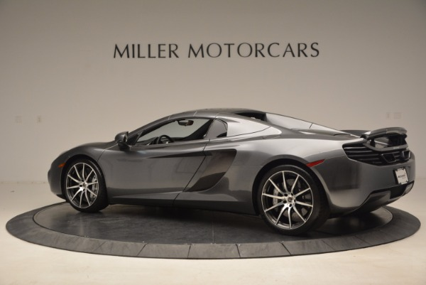 Used 2014 McLaren MP4-12C SPIDER Convertible for sale Sold at Bugatti of Greenwich in Greenwich CT 06830 17
