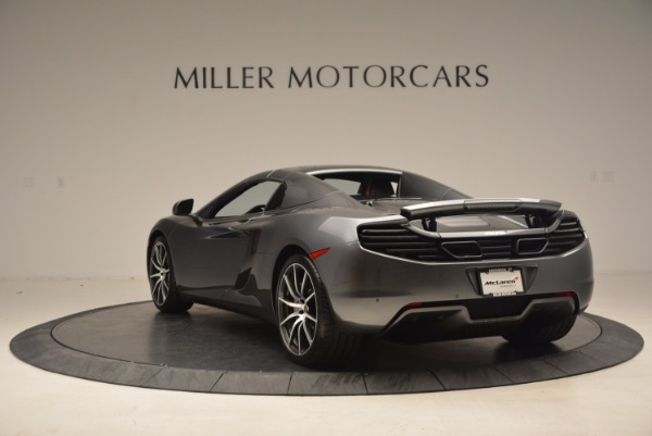 Used 2014 McLaren MP4-12C SPIDER Convertible for sale Sold at Bugatti of Greenwich in Greenwich CT 06830 18