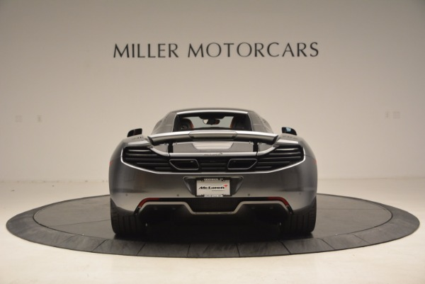 Used 2014 McLaren MP4-12C SPIDER Convertible for sale Sold at Bugatti of Greenwich in Greenwich CT 06830 19