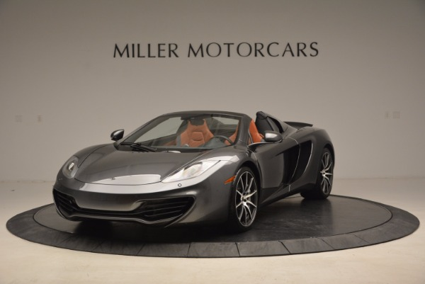Used 2014 McLaren MP4-12C SPIDER Convertible for sale Sold at Bugatti of Greenwich in Greenwich CT 06830 2