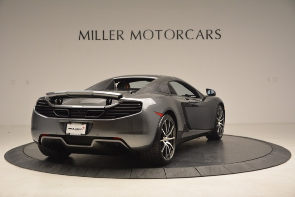 Used 2014 McLaren MP4-12C SPIDER Convertible for sale Sold at Bugatti of Greenwich in Greenwich CT 06830 20